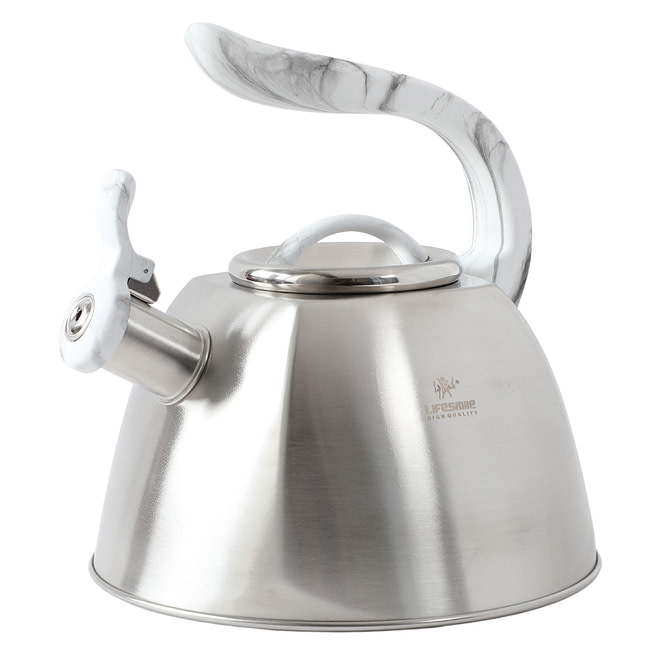 Life Smile Stainless Steel Kettle