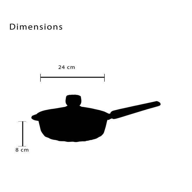 Non Stick Deep Fry Pan [FLCM5F]