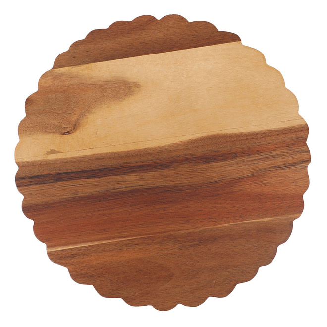 Life Smile Round Cutting Board