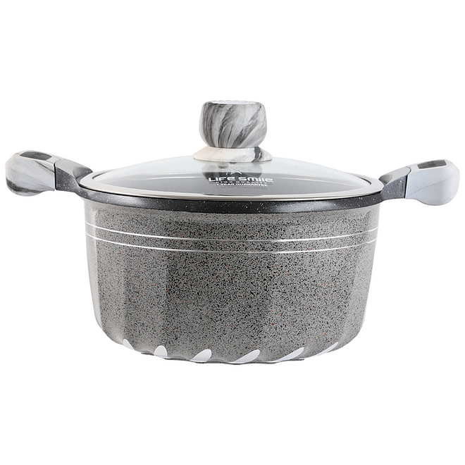 life smile Non Stick Granite Coating Soup Pot [LifeP2]