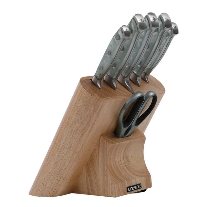 Life Smile 7PCS Knife Set Stainless Steel