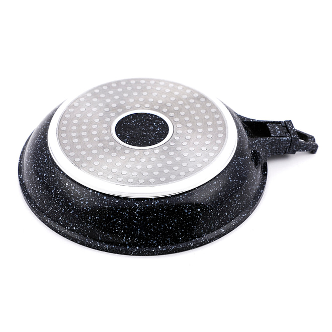 life smile Fry Pan with Lid
