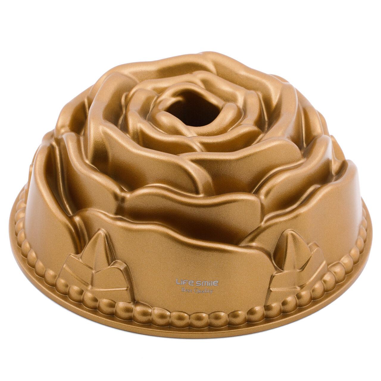 Life Smile Rose Cake Pan