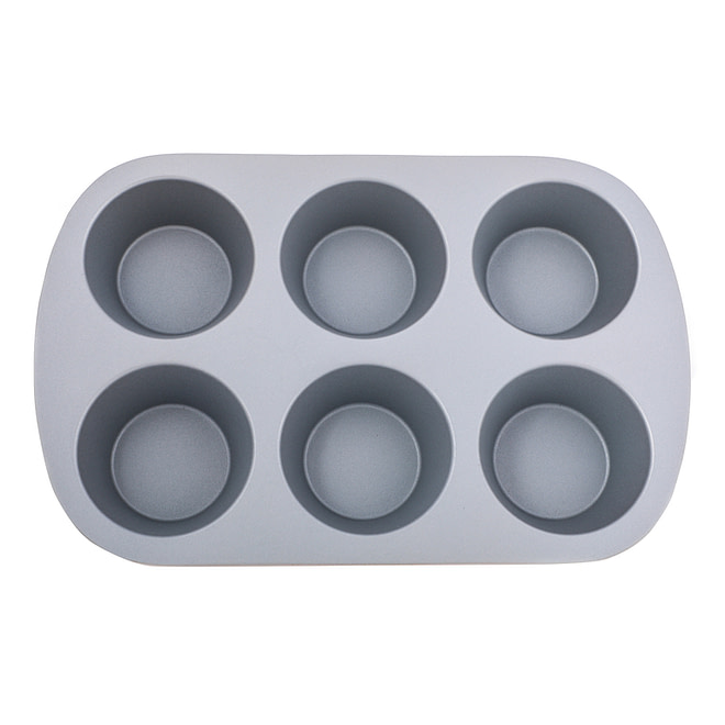 Life smile 6 Cups Muffin Pan