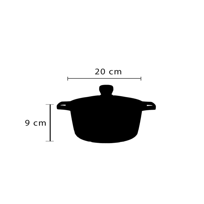 Cookware Set with Granite Coating [FLCM-6-2]