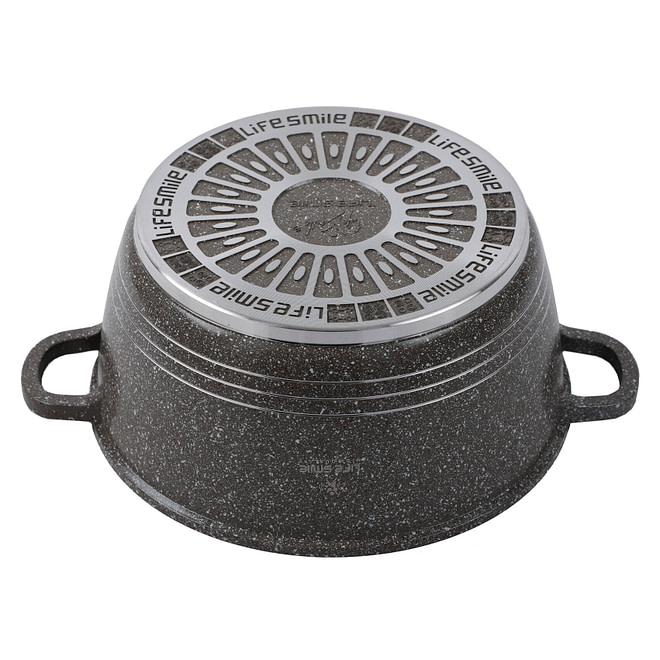 lifesmile Soup Pot with Granite Coating