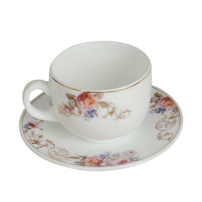 Life Smile Opalware Coffee Cup Set