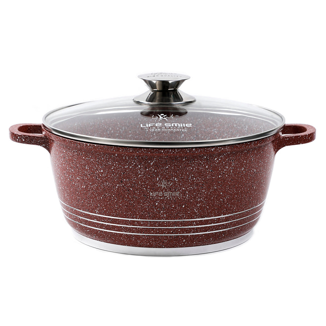 lifesmile Soup Pot with Granite Coating [LifeP4]