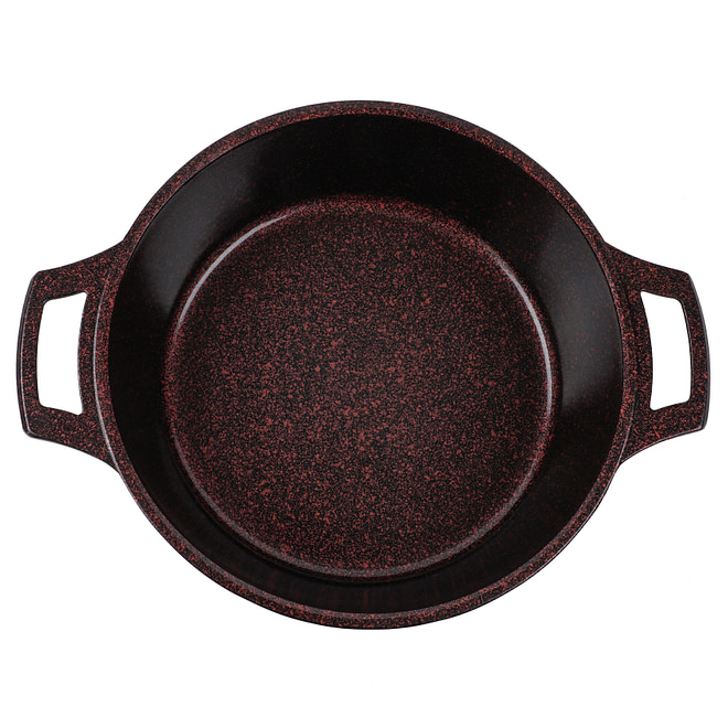 Life Smile Shallow Pot with Granite Coating