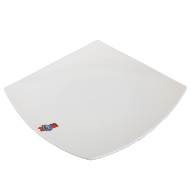 life smile Melamine Square Dinner Plate